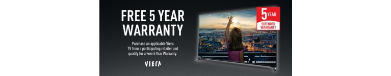 Panasonic Viera 5 Year